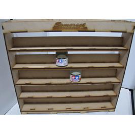 VPS001 - Rack N Stak - Vertical Tamiya Paint Stand